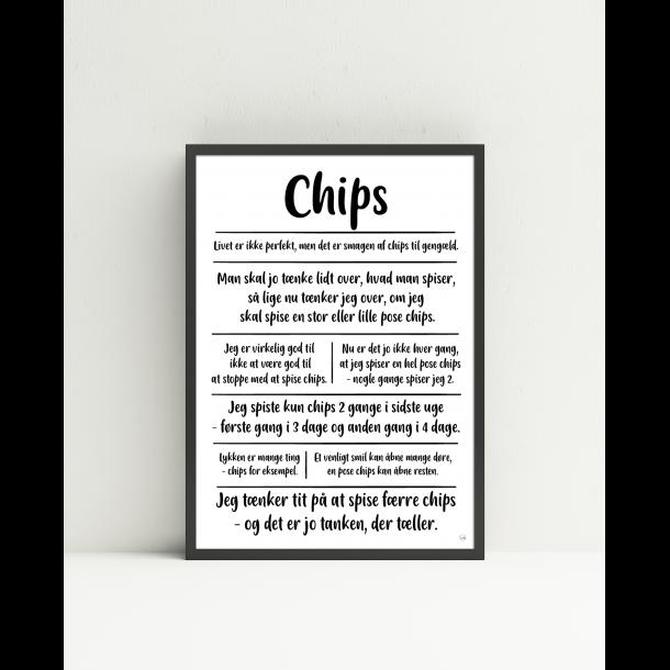 Chips citatkollage A4